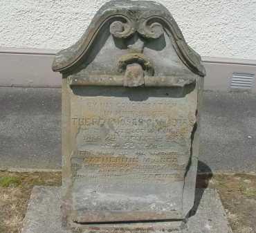 CHAMBERS, Moses - A Tyrone-Leckpatrick Civil Parish, Tyrone