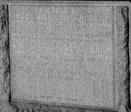 O'BRIEN, John - Born Tyrone, buried: USA, New York, Tyrone
